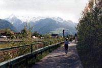 Велопутешествие вокруг озера Целль. Май 2003 г. Курорт Целль-ам-Зее - Капрун / Австрия.
