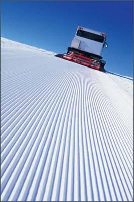 Единственный в Кировской области ратрак проложил первые километры лыжной трассы