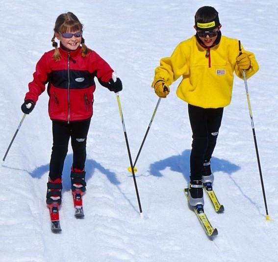 Правильно подобранные лыжи, лыжные палки и лыжные ботинки в сочетании с хорошей погодой и хорошей лыжнёй могут подарить немало радости и вам, и вашим детям.