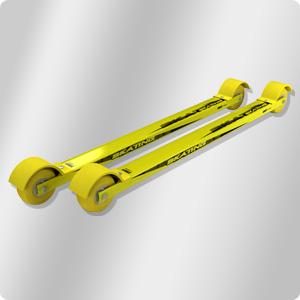 Лыжероллеры, как и лыжи, бывают разных конструкций и делают их самые разные производители. На снимке – коньковые лыжероллеры Start.