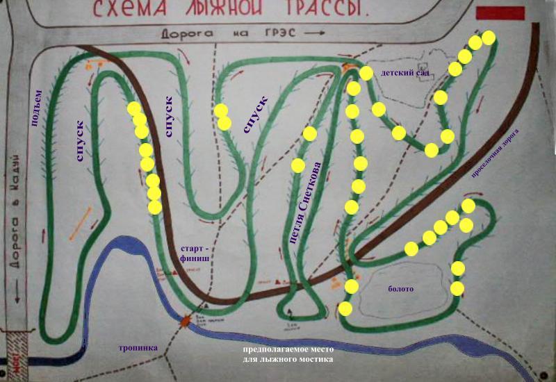 Схема нашей трассы