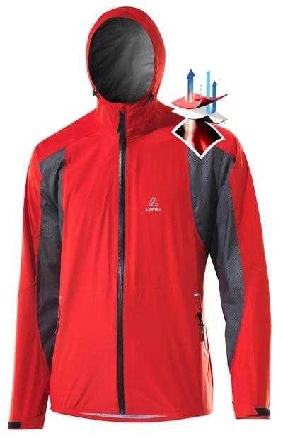 Всепогодная куртка Loeffler из инновационного материала Gore-Tex® Active Shell