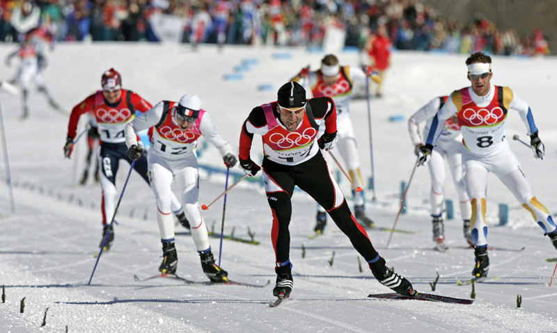 Михаил Ботвинов прямая линия с читателями журнала Лыжный спорт  Лыжи Финишная прямая олимпийского полтинника в Турине где 39 летний Михаил