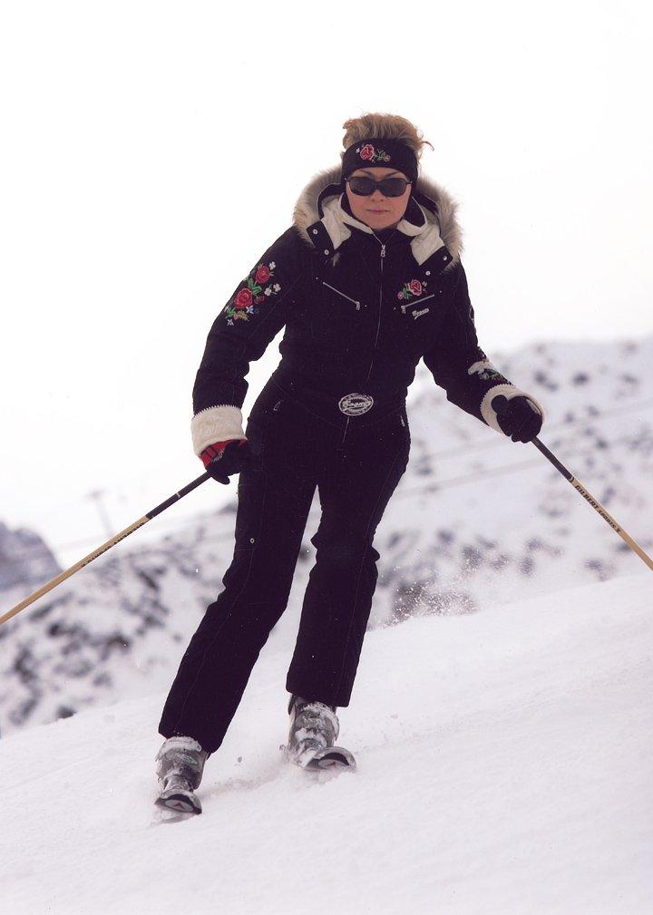 Лыжный спорт фото на горных лыжах по