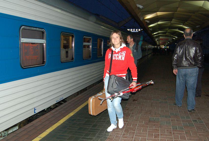 Биатлон. Мария Садилова.