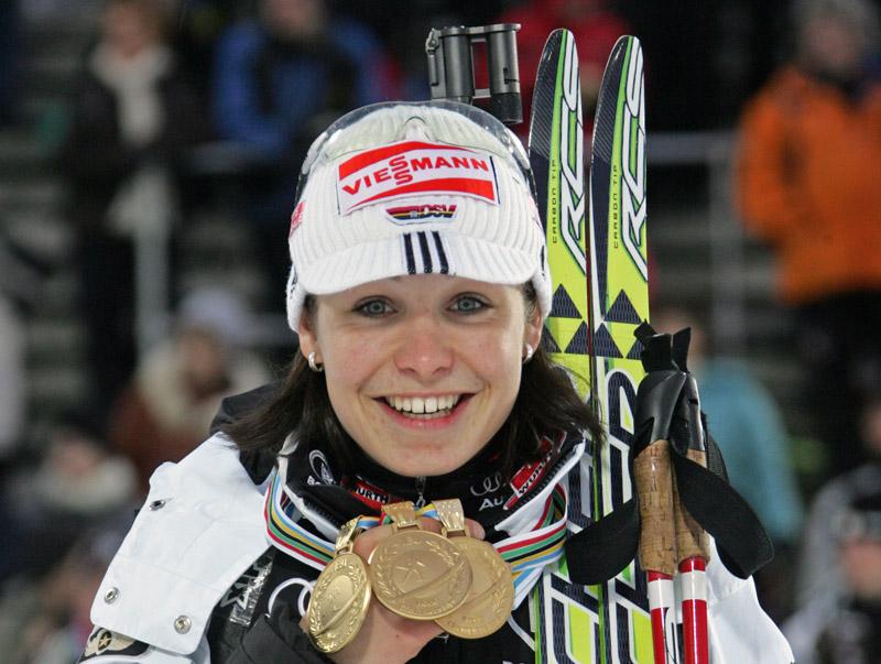 Биатлон. Магдалена Нойнер. Прямая линия журнала Лыжный спорт