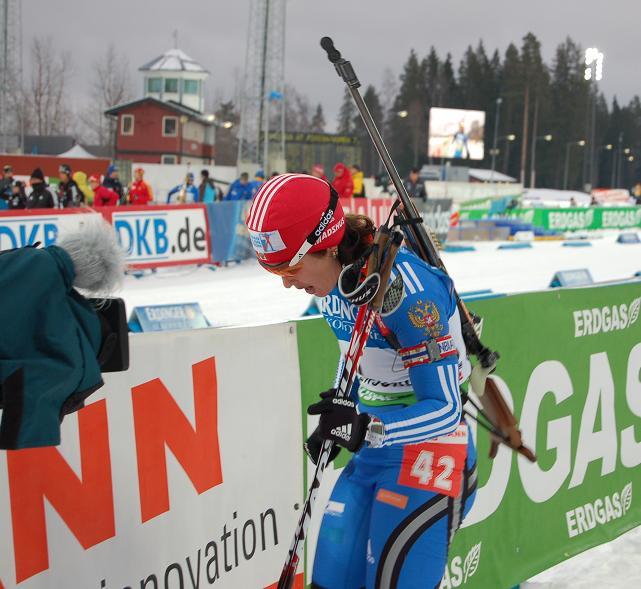 Биатлон. Первый этап Кубка мира по биатлону 2009-2010.