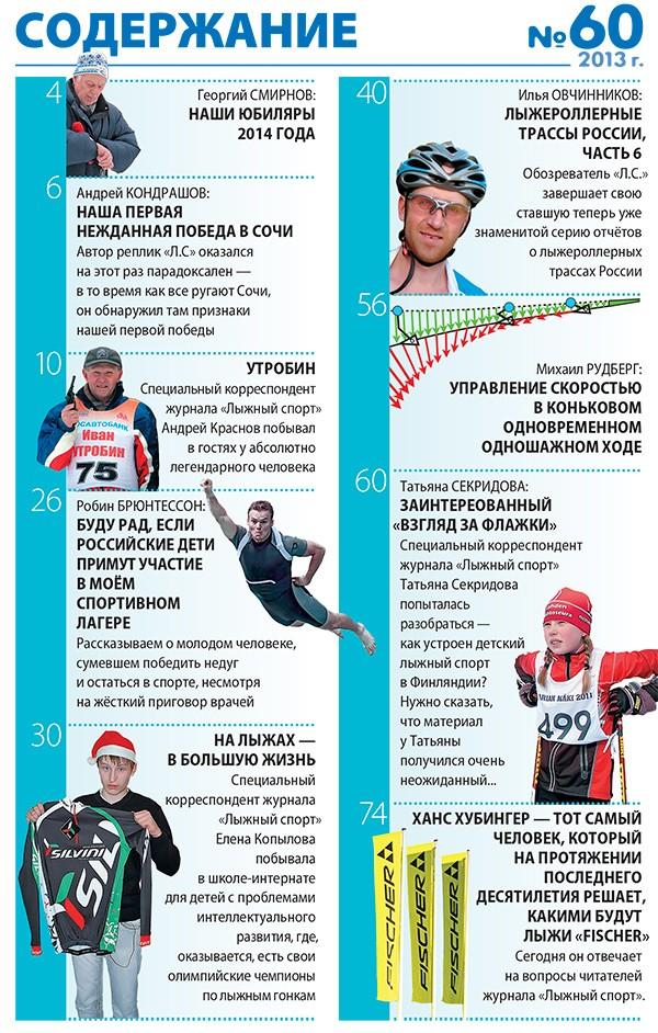 смотреть журнал лыжный спорт