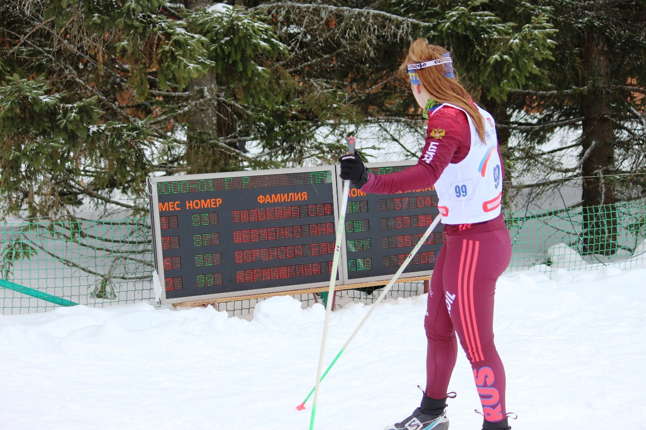 Сразу же после финиша спортсменки могли увидеть свой результат ии предварительно занятое место среди закончивших дистанцию.