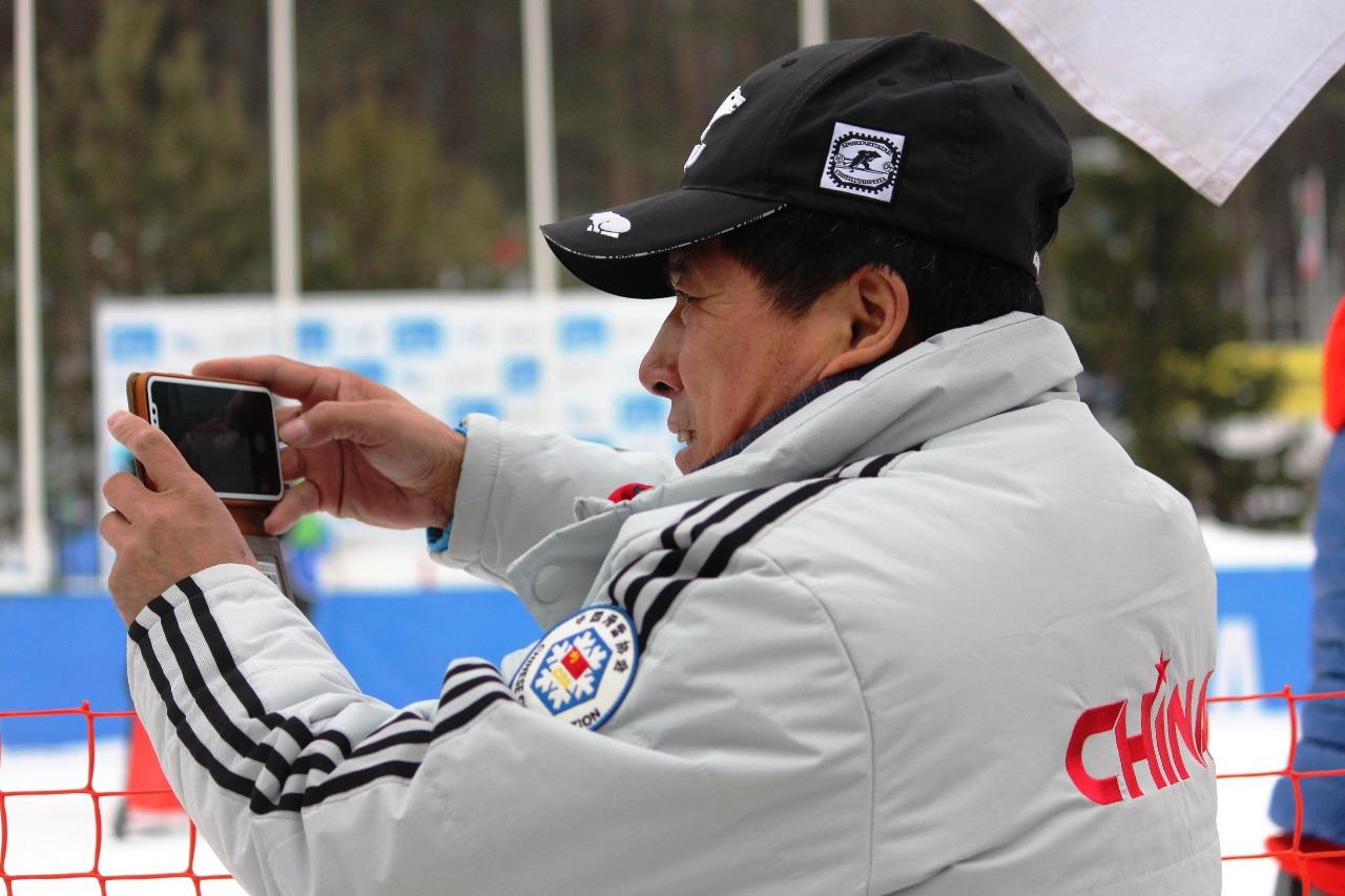 Представитель китайской команды.