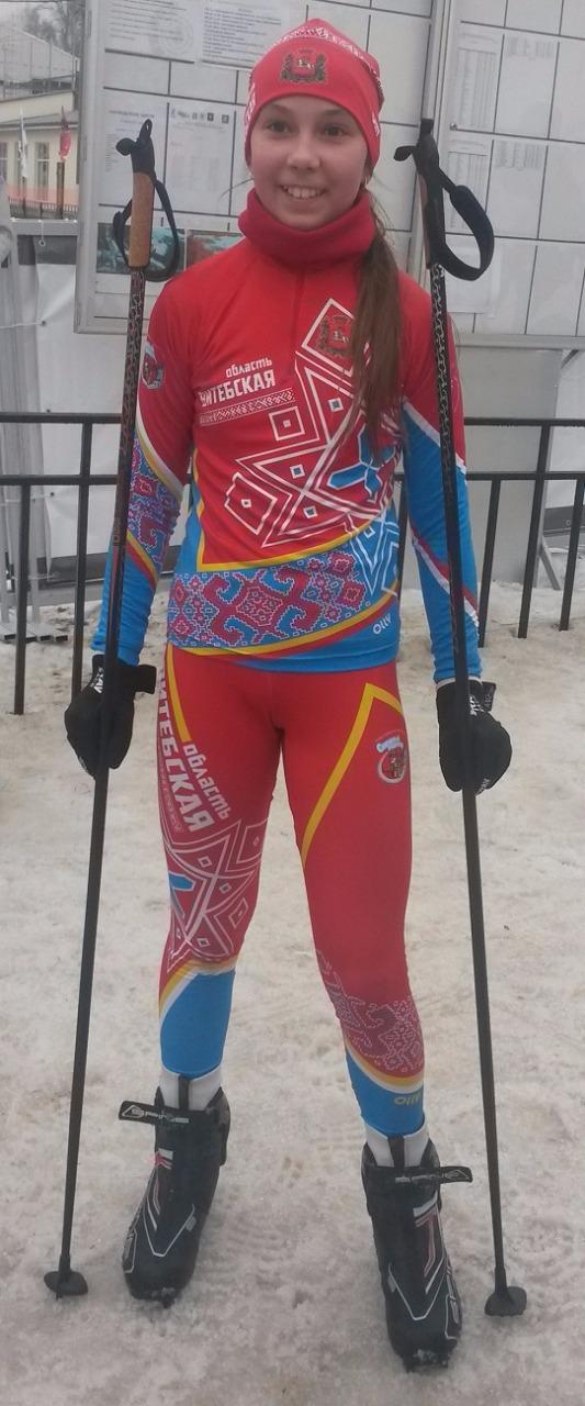 Витебская спортсменка в форме