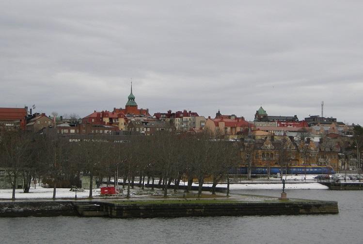 Эстерсунд находится на берегу второго по величине озера Швеции