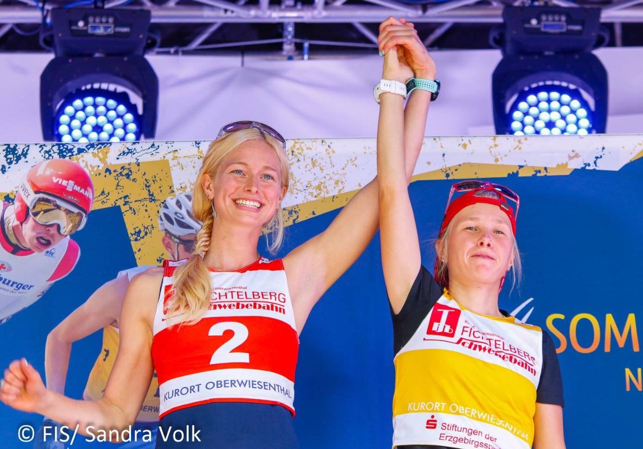Тара Джерати-Моутс и Стефания Надымова – победители первого в истории женского Гран-при