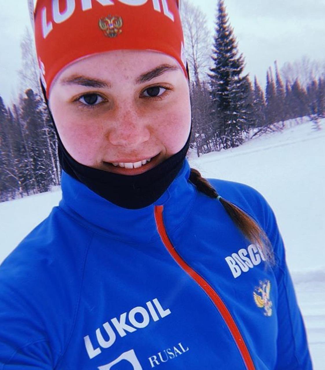 Победительница квалификации, бронзовый призер спринта Аида Баязитова.