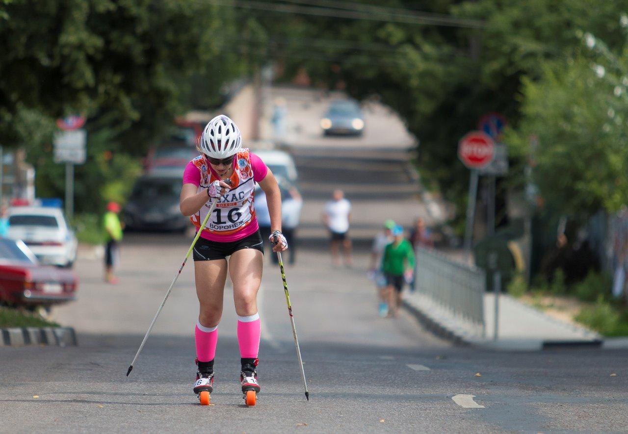Победный финиш в гору юниорки Анны Хлябиной