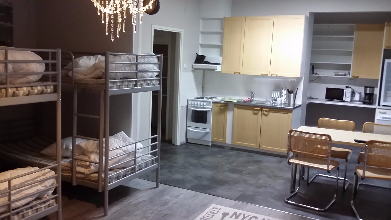 Все помещения в доме очень просторные, нет ощущения хостела