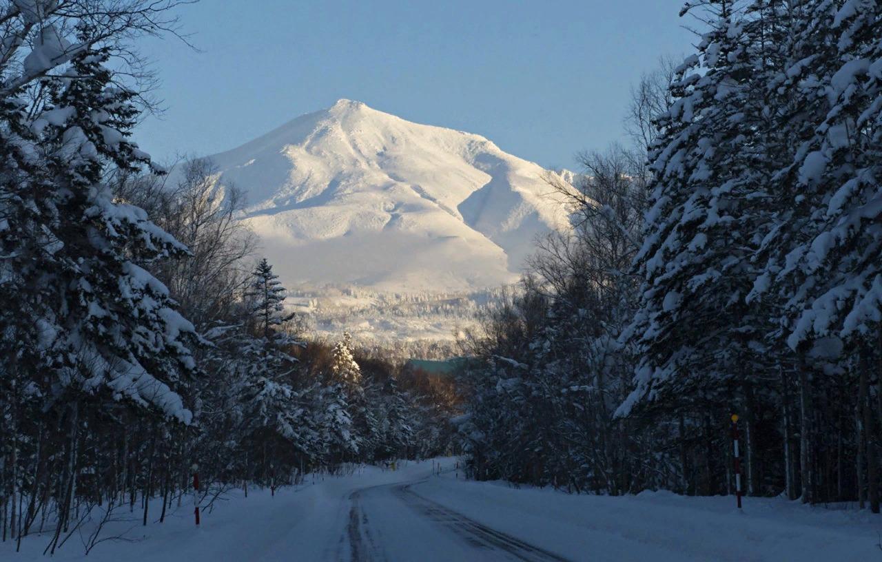 Дорога в горы.
