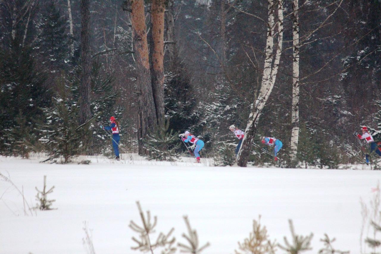 Все равнинную, слабопересеченную часть дистанции лидировала команда Ярославской области.