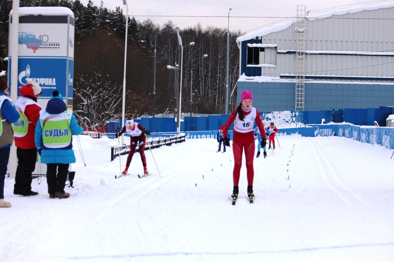 Финиш Майи Изотовой (третье место).