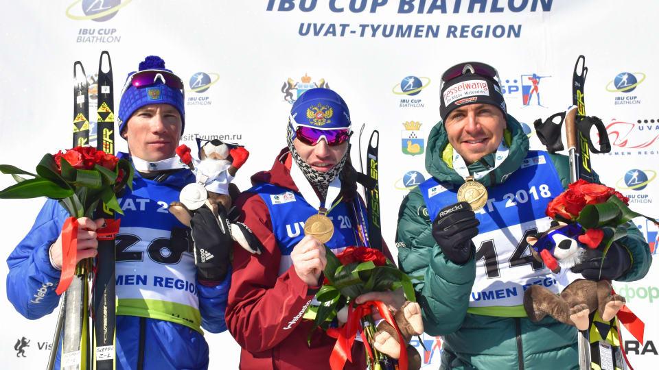 Чемпион кубка IBU: Логинов