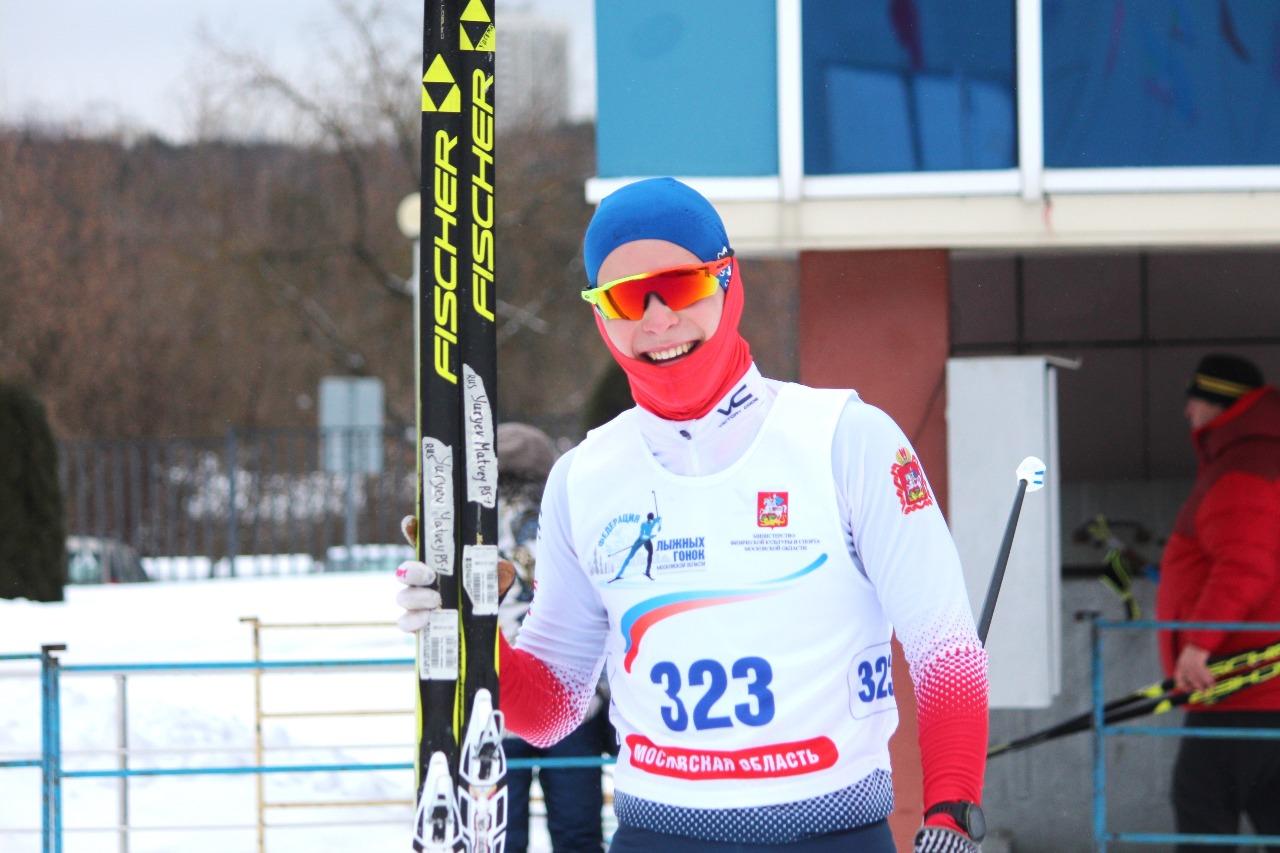 15. Матвей Юрьев очень доволен свои результатом - он показал третье время.