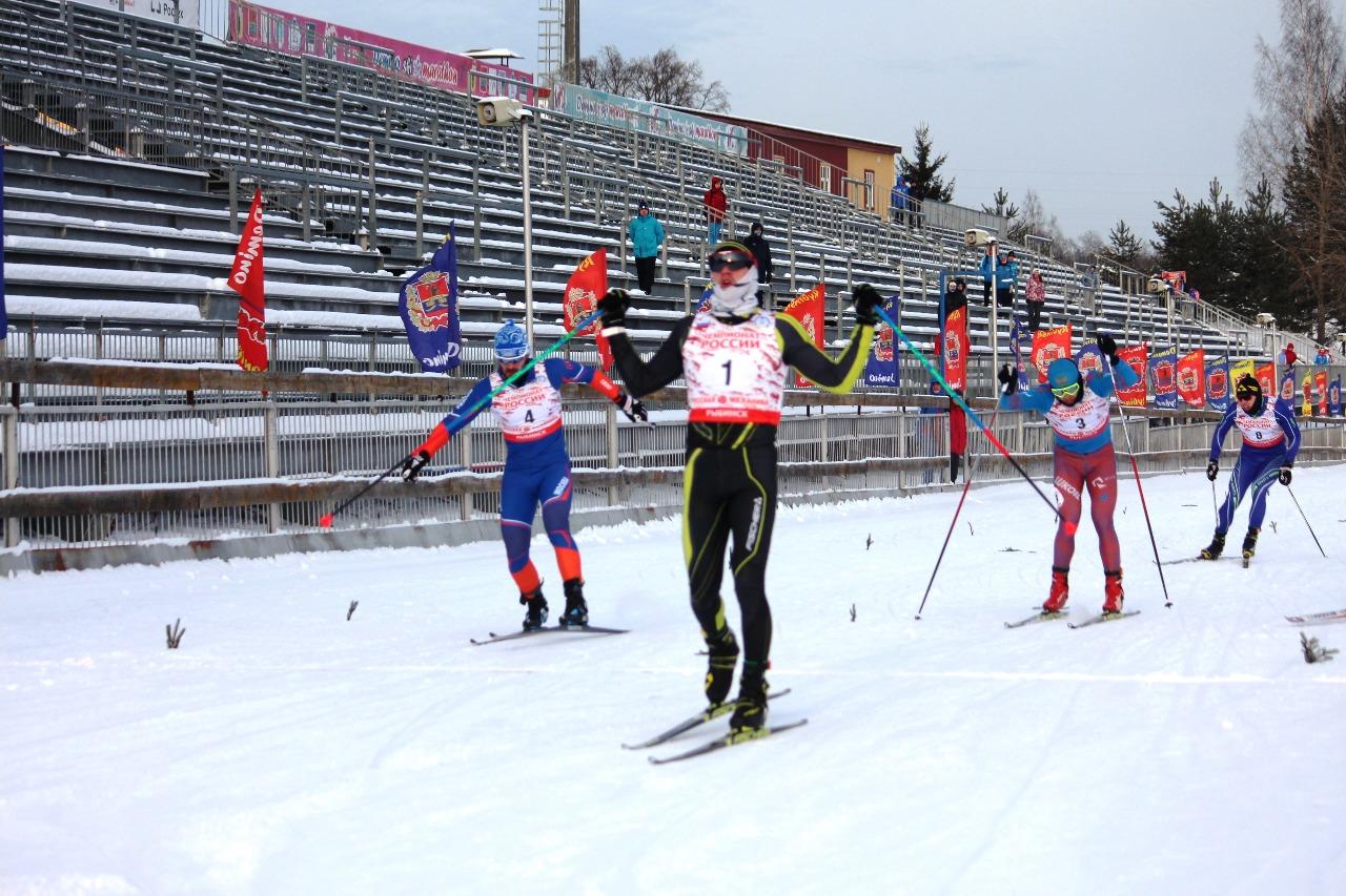 Фёдор Назаров выигрывает этот спринт.