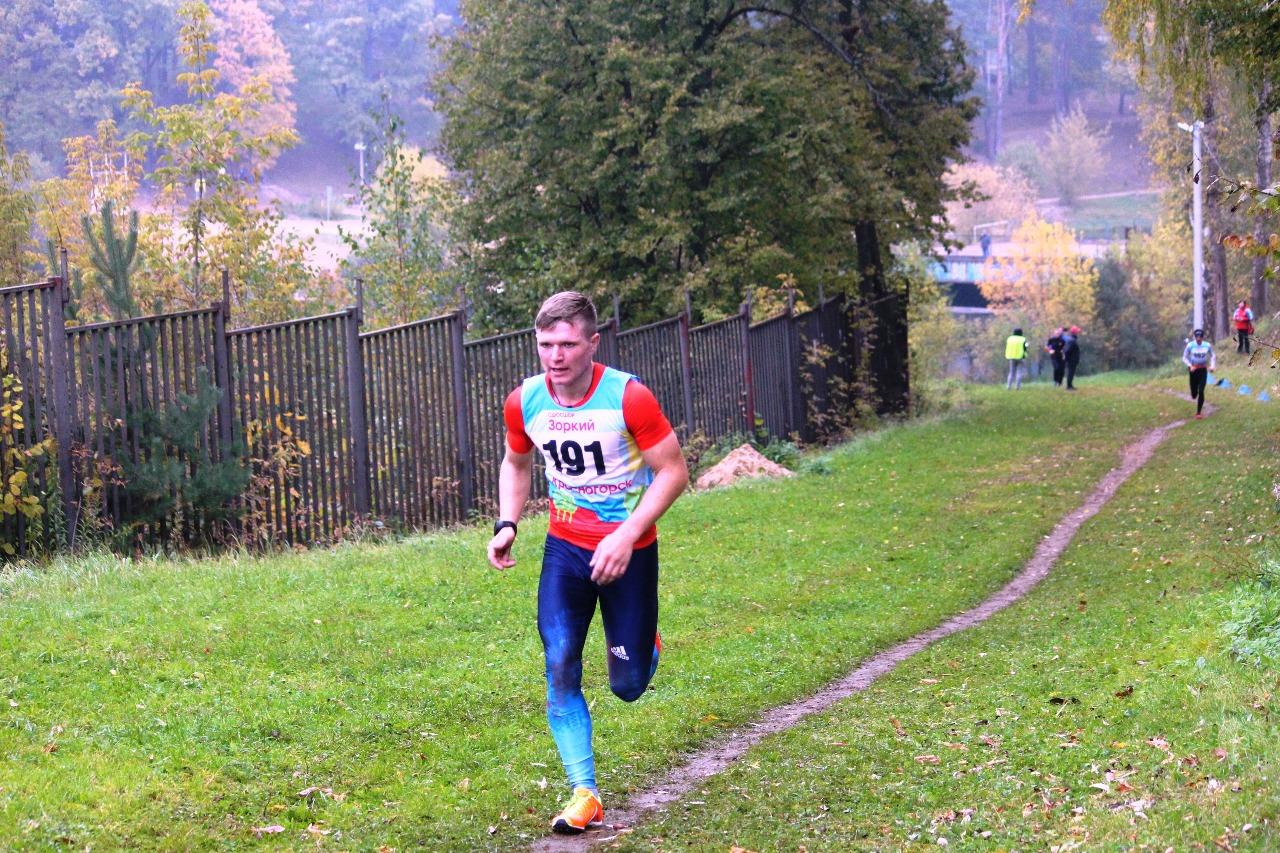 Алексей Копейкин (Красногорск), 3 результат по юниорам.