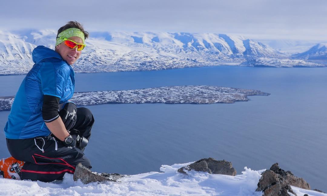Томаж Друмль в Исландии