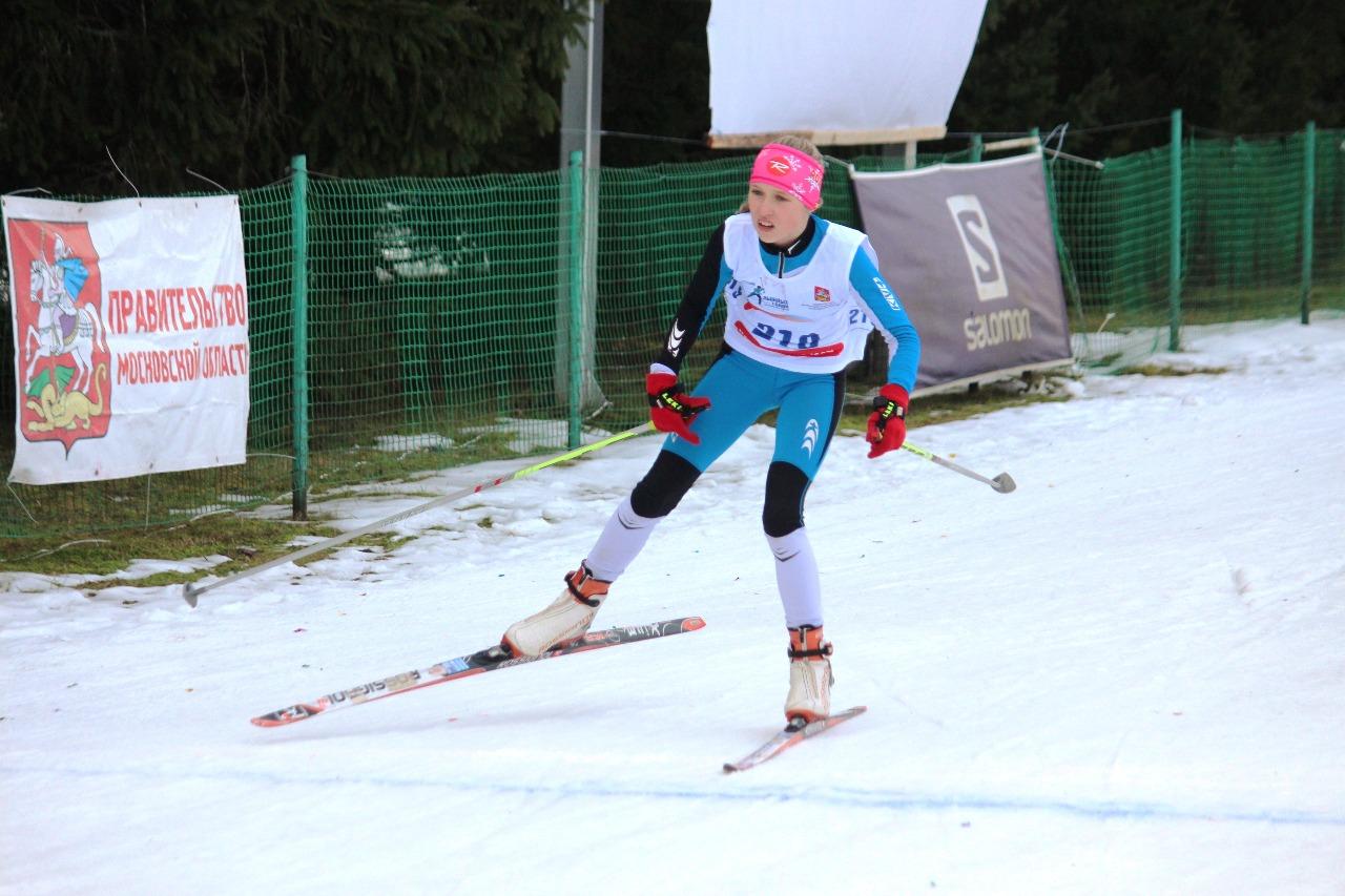 Финиш Марии Котовой с лучшим результатом в этой гонке.