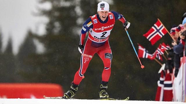 Удмуртский лыжник Максим Вылегжанин стал 43-м в масс-старте на 15 км классикой в Тур де Ски