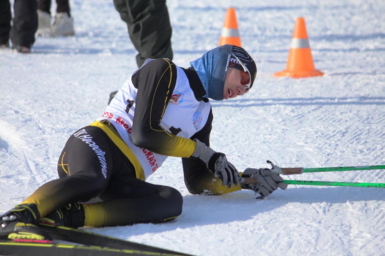 Сергей Головань после финиша.