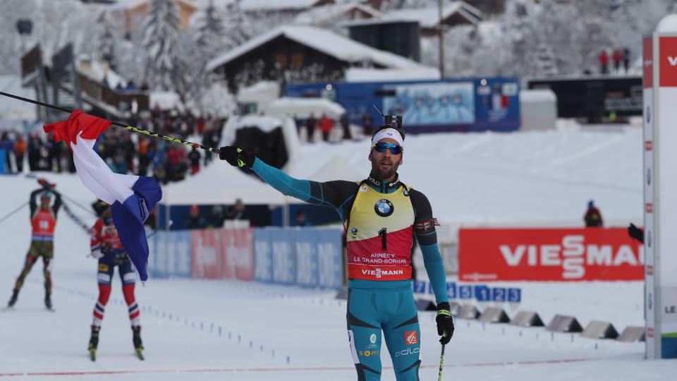 Шипулин финишировал 4-м вмасс-старте натретьем этапеКМ побиатлону