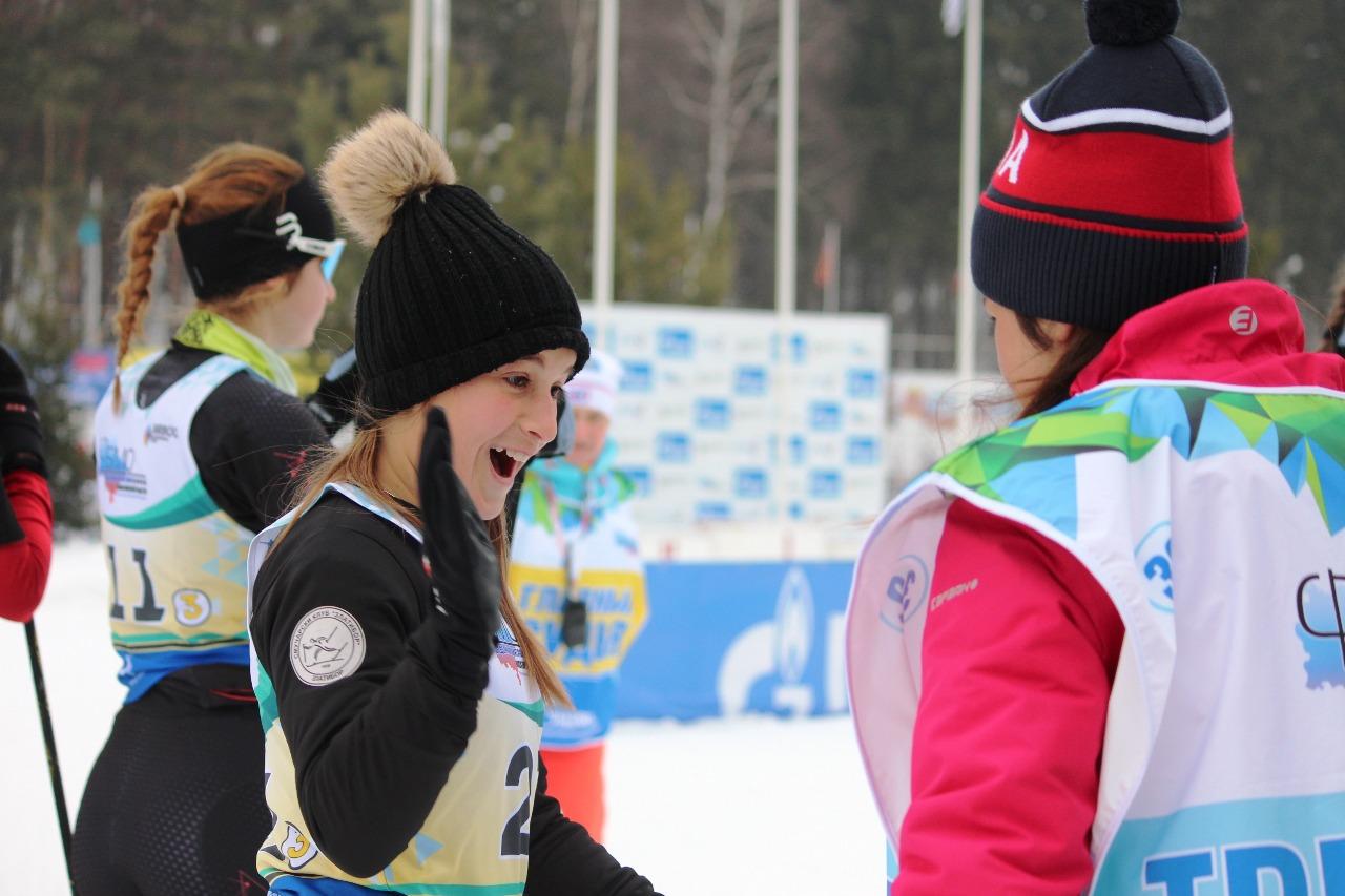 Сербская спортсменка перед стартом.