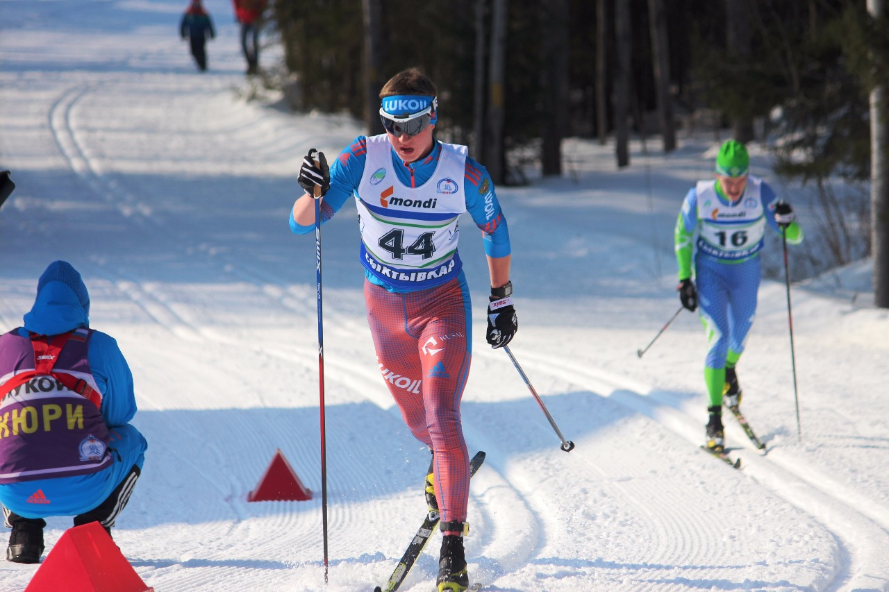 Егор Казаринов в конце первого круга.