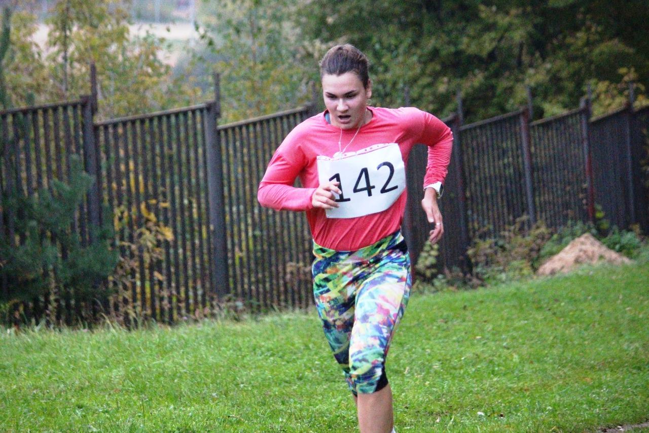 Победительница среди юниорок Софья Кирилина (Краснознаменск).