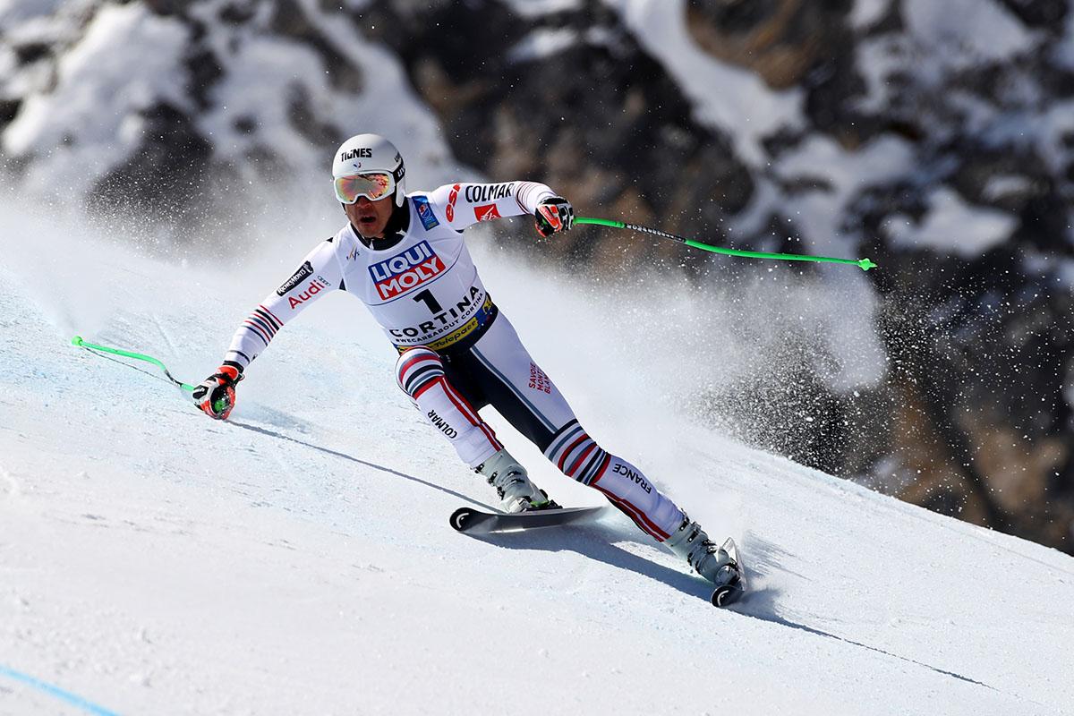 Первый стартующий Кристиан Вальдер (Австрия)