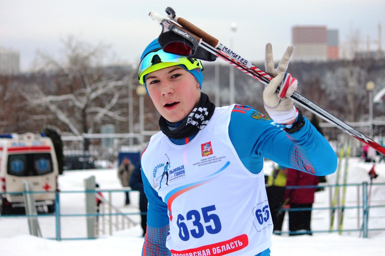 Вячеслав Мамичев после финиша очень доволен своим победным результатом.