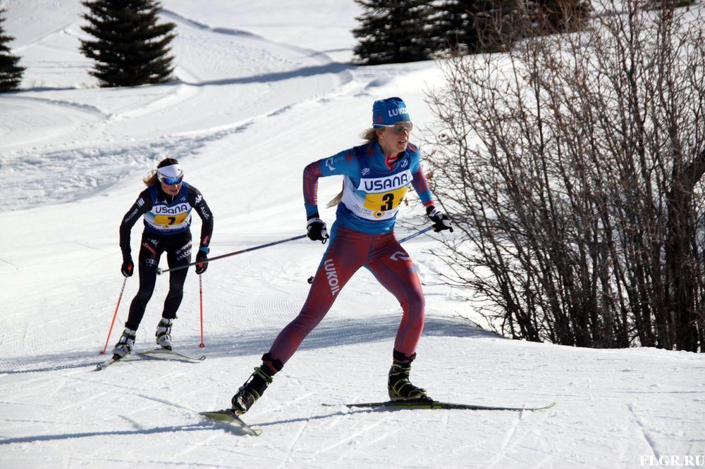 Аня Жеребятьева вышла в лидеры на своем 3-м этапе.