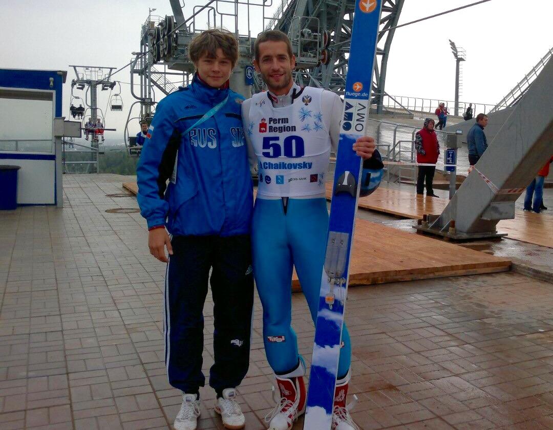 Михаил Назаров и Вольфганг Лойцль, сентябрь 2012