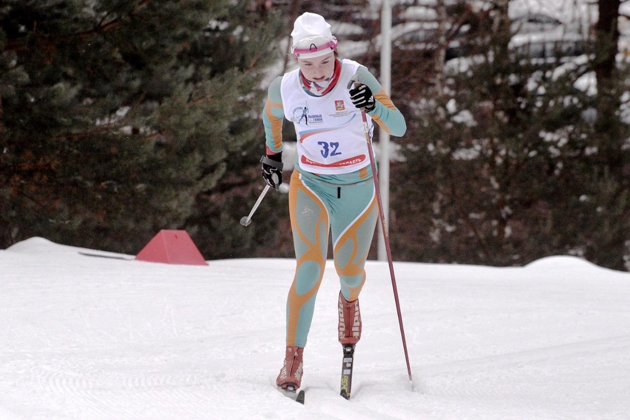 3. Александра Сабитова - второй результат.