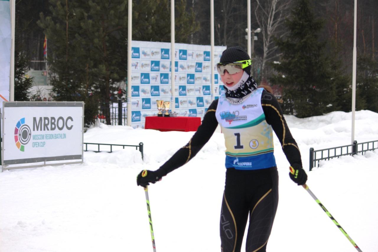 Финиш Анны Максимовой (ЛК Наседкина).