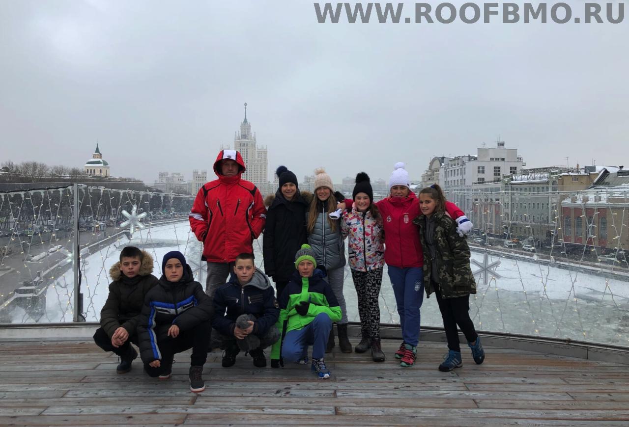 Экскурсия по московским улицам.