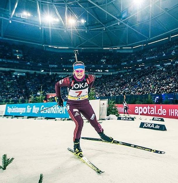 Биатлон рождественская гонка германия шальке 04