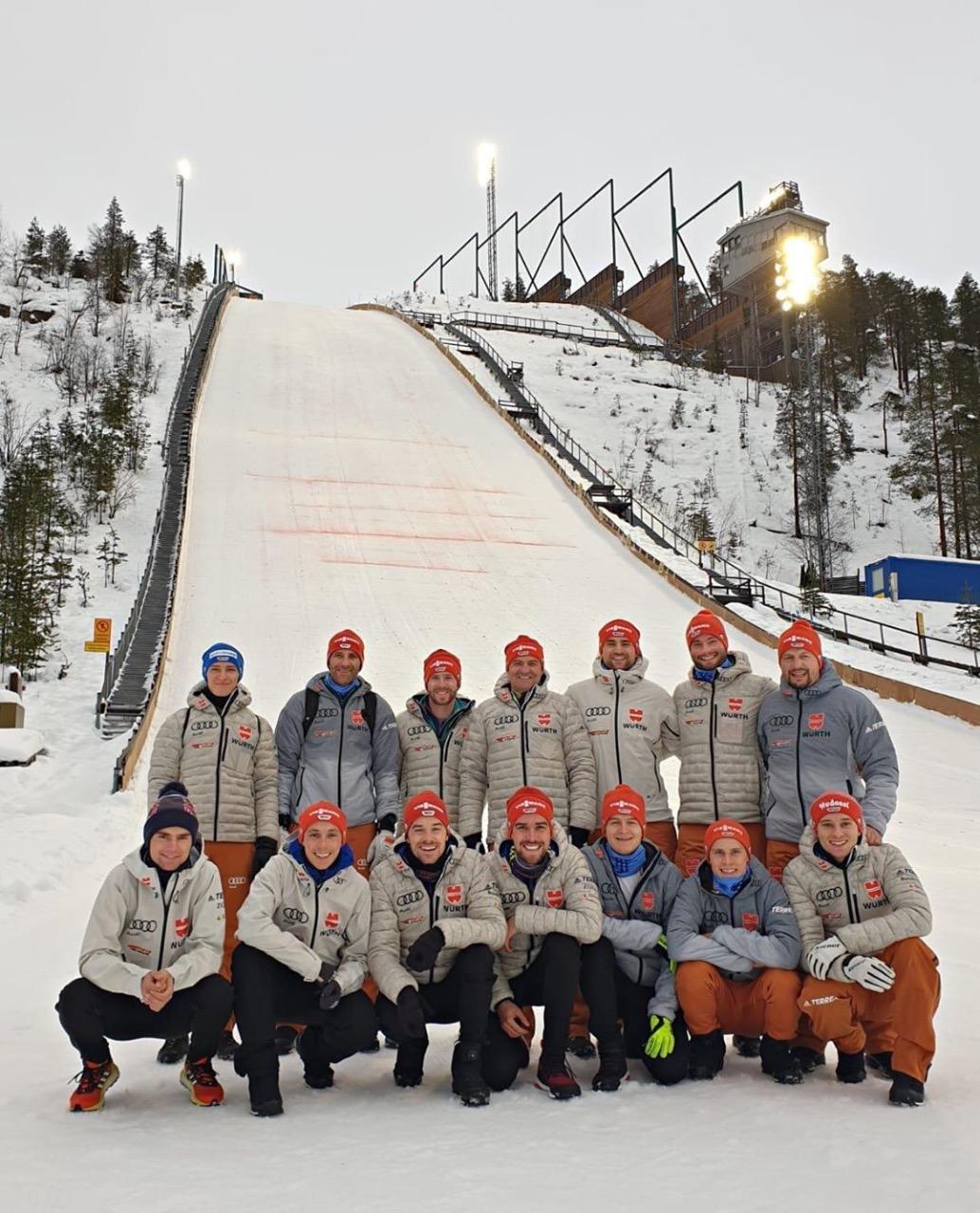 Команда Германии в Куусамо