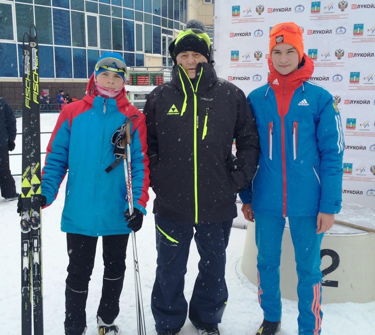 Новые чемпионы Ефимова - Ирина Головатюк и Вячеслав Мамичев.