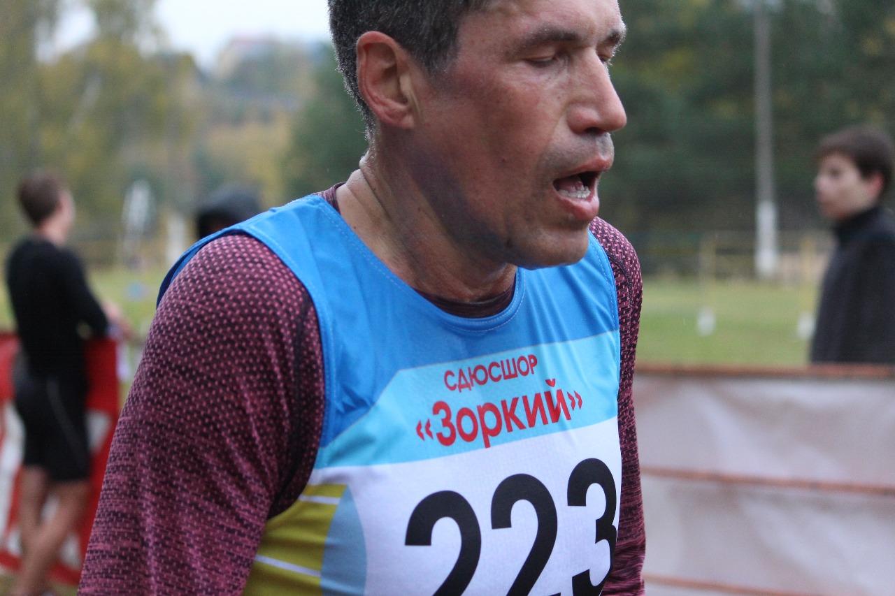 Дмитрий Командный сразу после финиша.