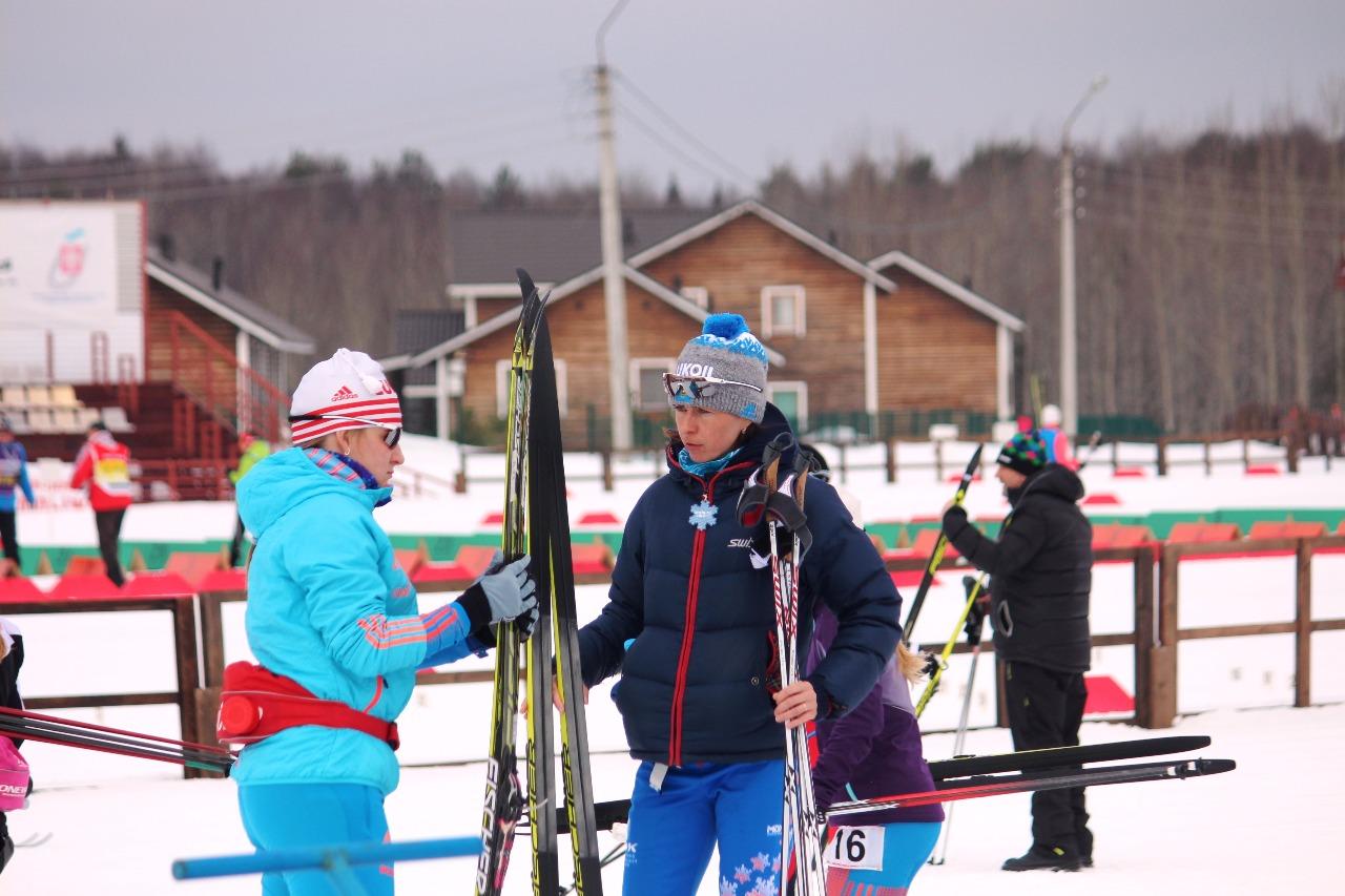 Полина Некрасова и ее тренер Наталья Волкова.