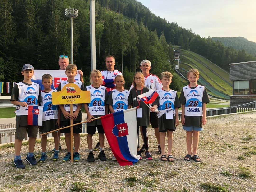 Команда Словакии в Рупольдинге