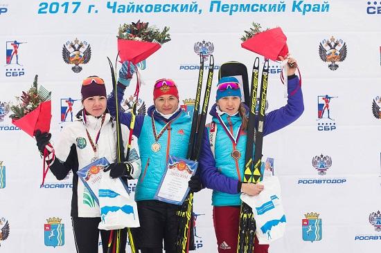 Биатлонистка Услугина одолела  вовтором спринте наэтапе Кубка Российской Федерации