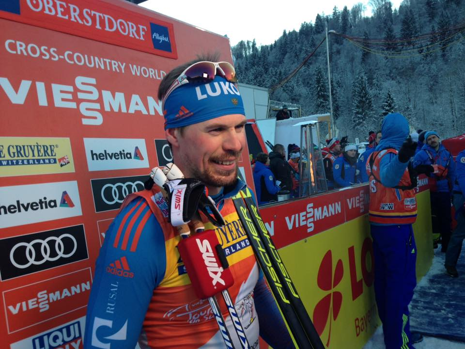 Устюгов пришел вторым вмасс-старте на«Тур деСки»